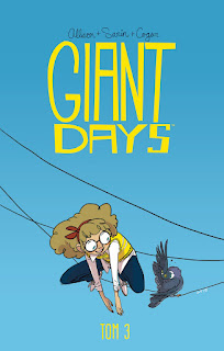 Giant Days tom 3 okładka