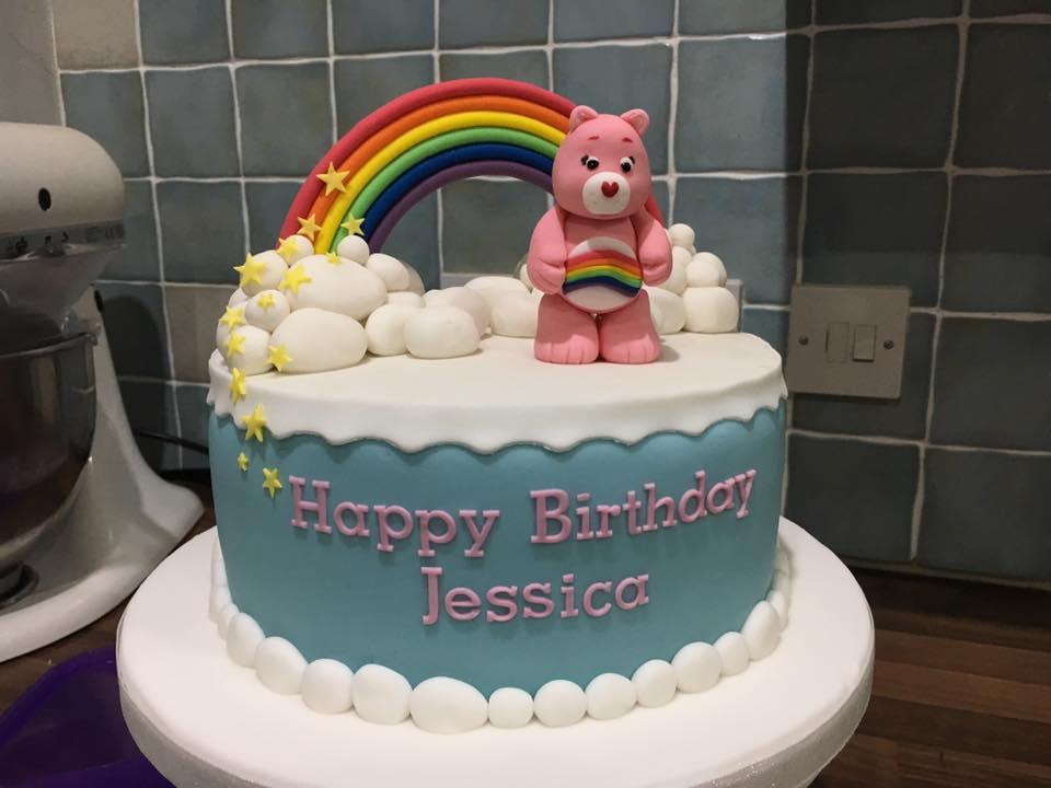Eat Cakes By Susan Care Bear Pinata Cake