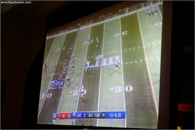 Super Bowl LIII en la Pantalla del Gastrobar Bulla en Coral Gables, Florida