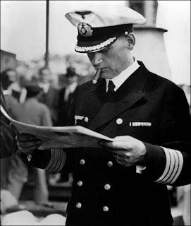 GRAF SPEE: Carta del capitán de navío Hans Langsdorff al embajador alemán en Buenos Aires
