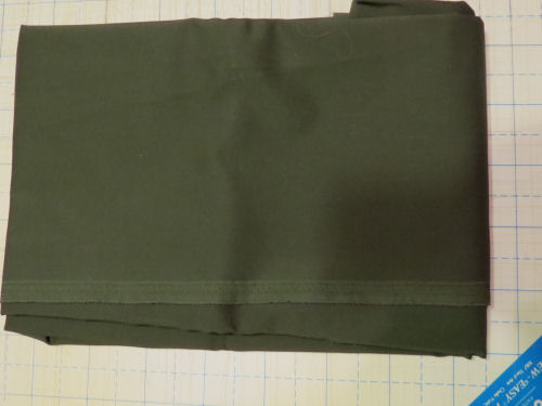 dark green fabric