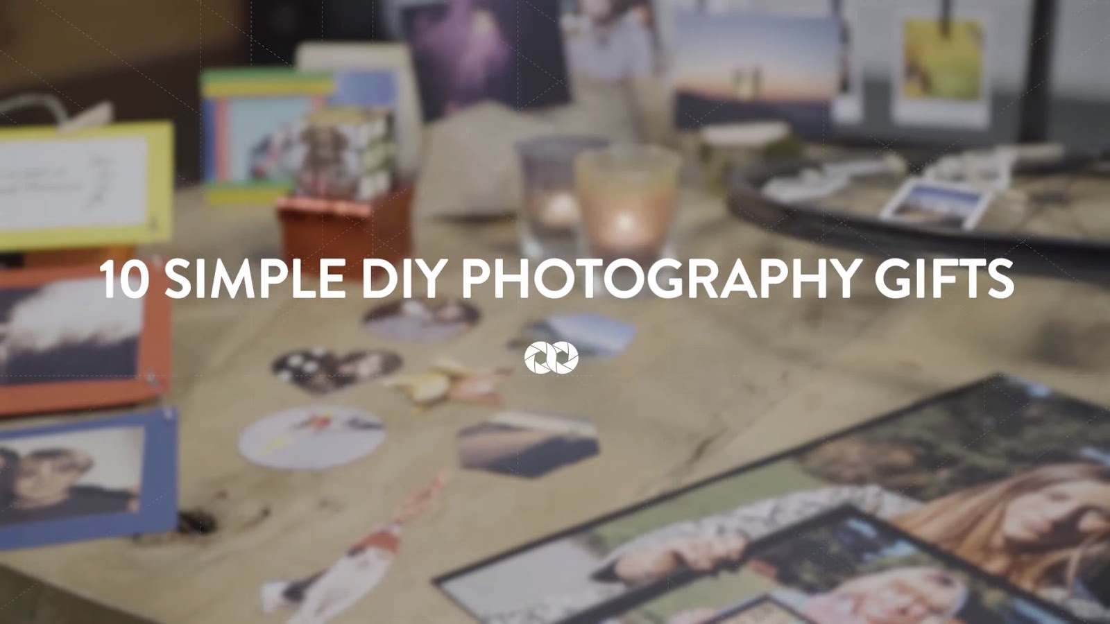 10 Simple DIY Photography Gifts (Perfect for Christmas)