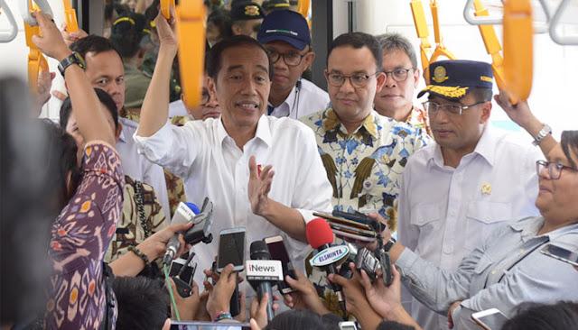 Klaim Infrastruktur Justru Bikin Elektabilitas Jokowi Melorot