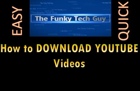 How to download youtube videos the funky tech guy this is a simple and easy to follow guide on how to download youtube videos note no 3rd partyadd onsbrowser plugins is required ccuart Gallery