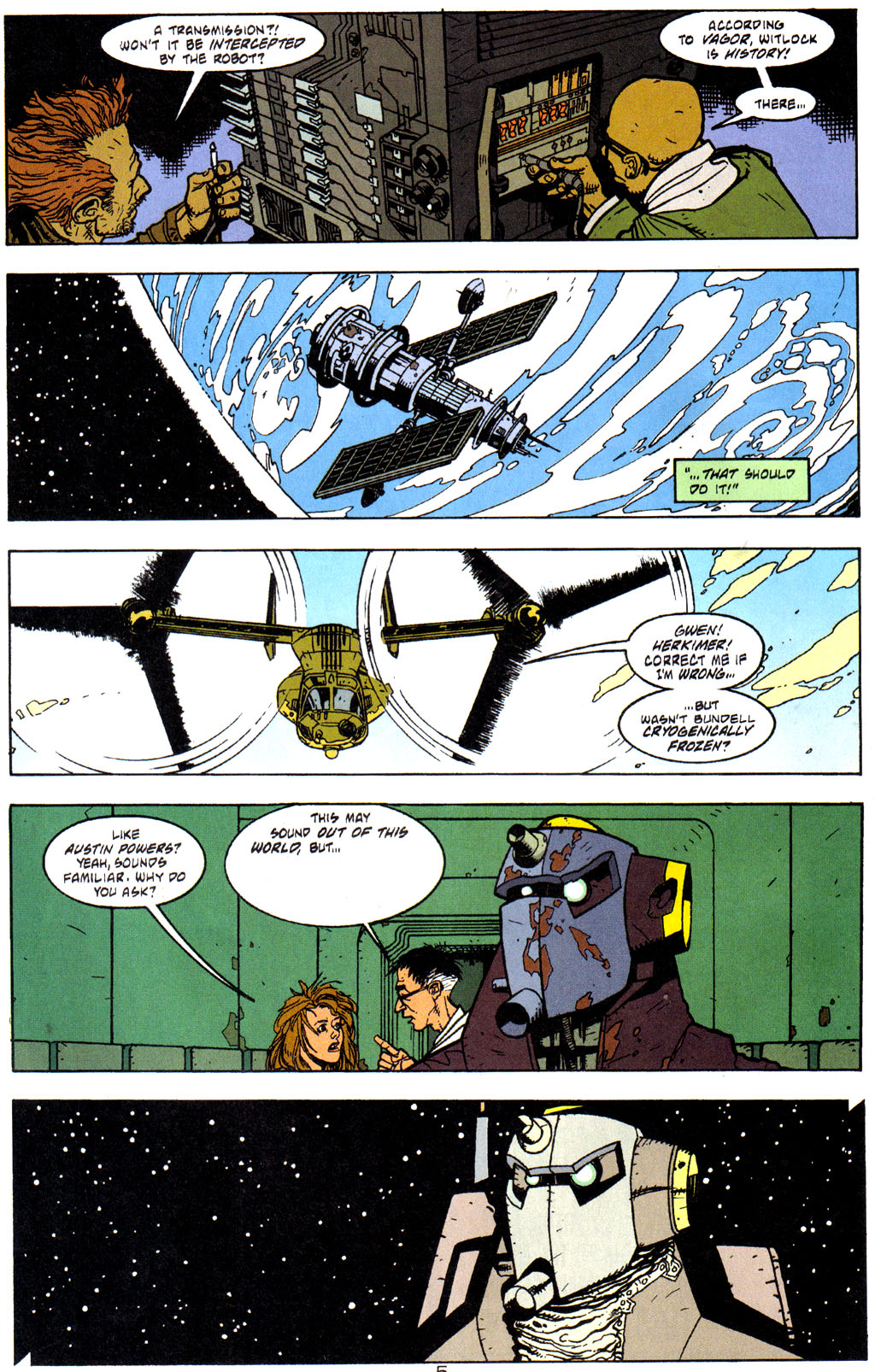 Read online Trouble Magnet comic -  Issue #3 - 6