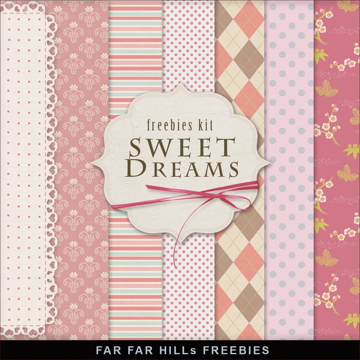 Freebies Kit - Sweet Dreams