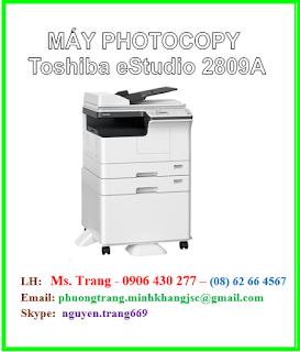 máy toshiba 2809a, máy photo toshiba 2809a chính hãng giá rẻ nhất