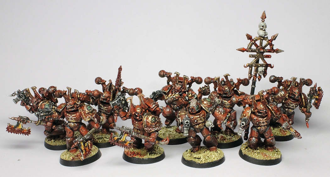 Showcase  World Eaters Chaos Space Marines