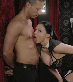 [X Chimera] Busty Hungarian babe Aletta Ocean eats jizz in glamcore fuck with Lutro