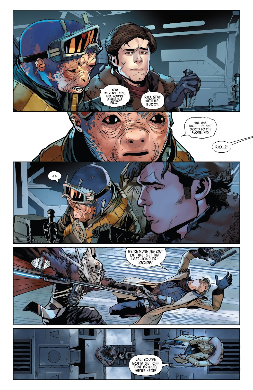 Read online Solo: A Star Wars Story Adaptation comic -  Issue #2 - 15