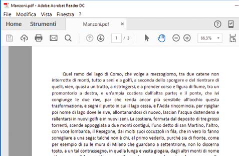 Come esportare il file Word in PDF