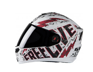 Steel Bird Air Free Live- White & Red