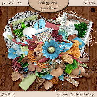 New Scrapbooking Templates, Challenges and Some Freebies