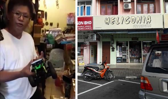 Seorang lelaki terasa terkilan apabila kereta kontrol yang baru di beli untuk anaknya itu di sebuah kedai didapati rosak