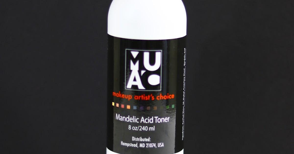 Makeupartistschoice Muac Mandelic Acid Toner Review My Vanity