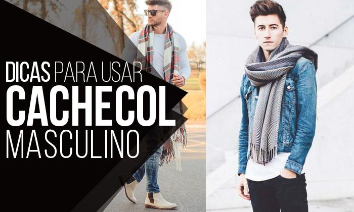 561b13922 Macho Moda - Blog de Moda Masculina  Cachecol Masculino  Dicas para ...