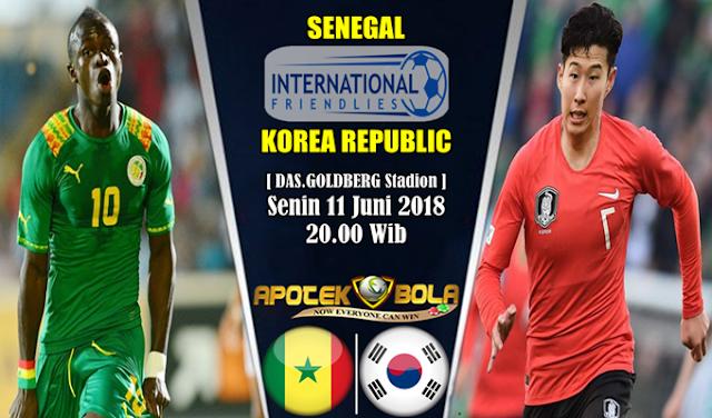 Prediksi Senegal vs South Korea 11 Juni 2018