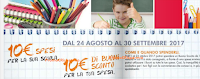Logo Spendi & Riprendi : 10 € per la scuola = 10 € per la tua spesa