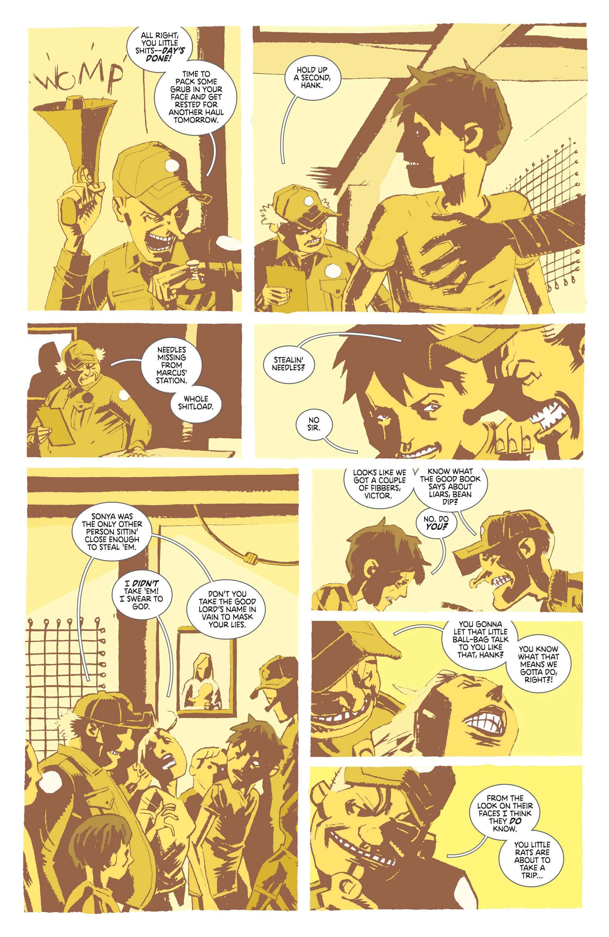 Read online Deadly Class comic -  Issue #8 - 9