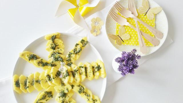 Ananas mit süßem Minz-Pesto | 12 Nachmach-Tipps und DIY-Ideen im Juni | www.mammilade.blogspot.de
