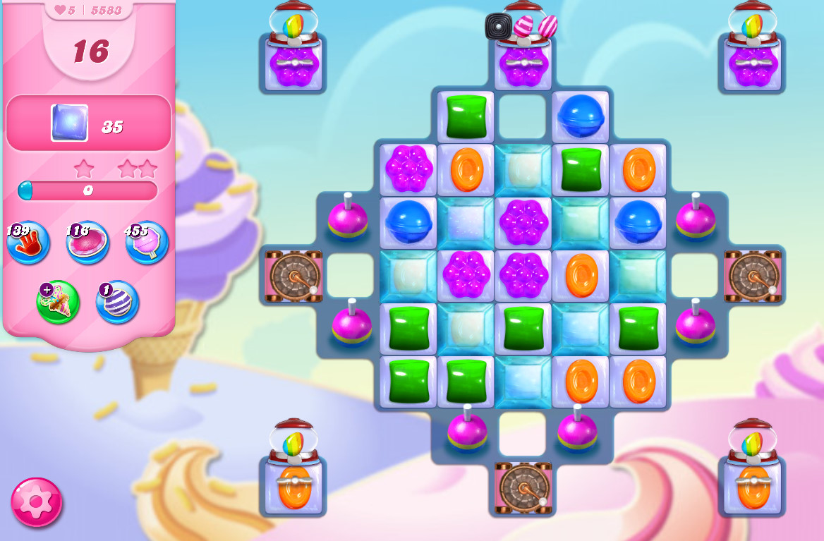 Candy Crush Saga level 5583