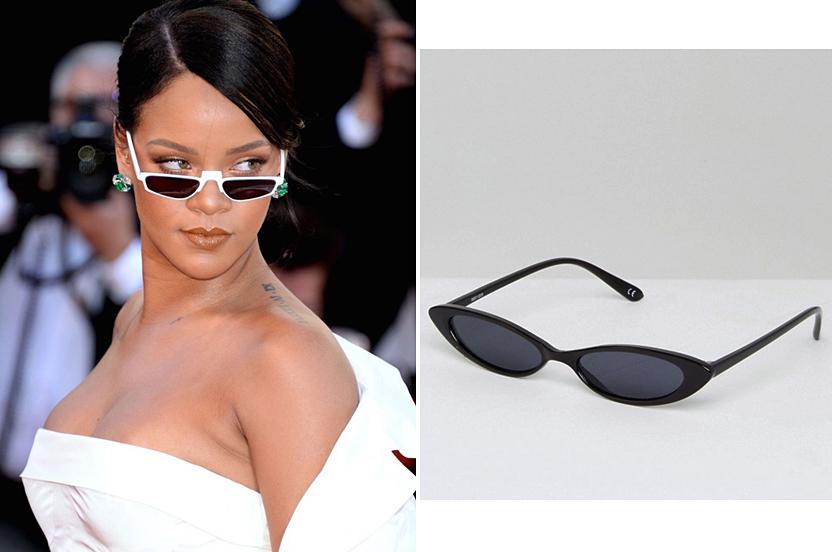 Este verano se llevan las gafas de sol más finas que nunca