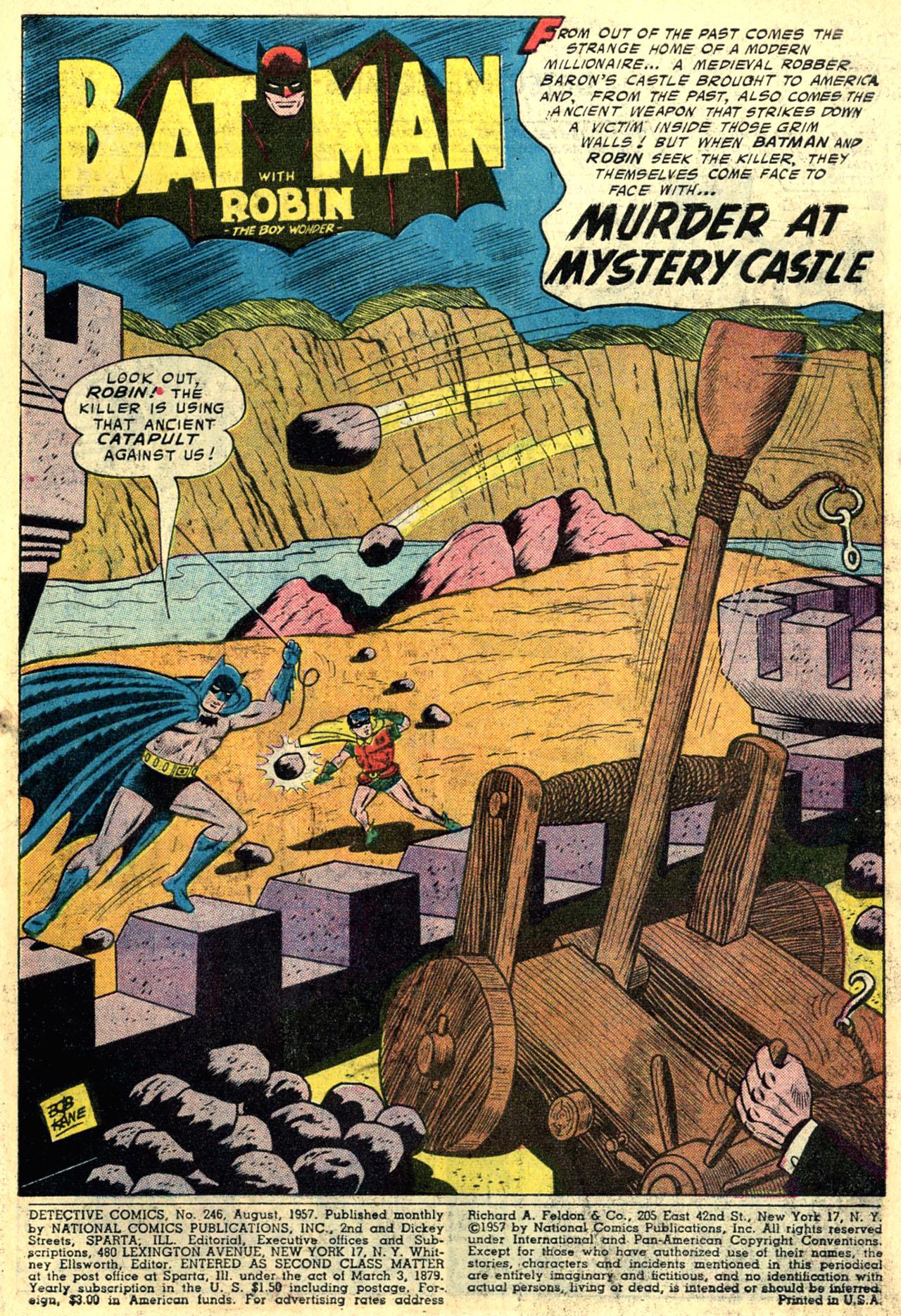 Read online Detective Comics (1937) comic -  Issue #246 - 3