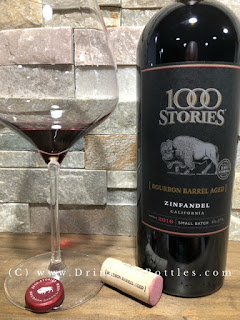 2016 1000 Stories Zinfandel Label