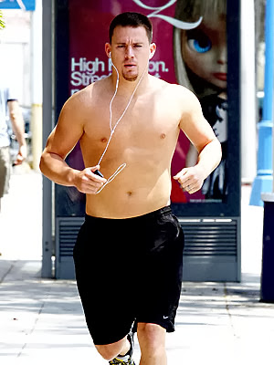 Channing Tatum's chest booster diet