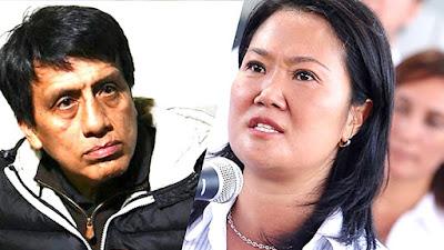 """Antonio Camayo al fiscal Pérez: Keiko Fujimori es la """"Señora K"""""""
