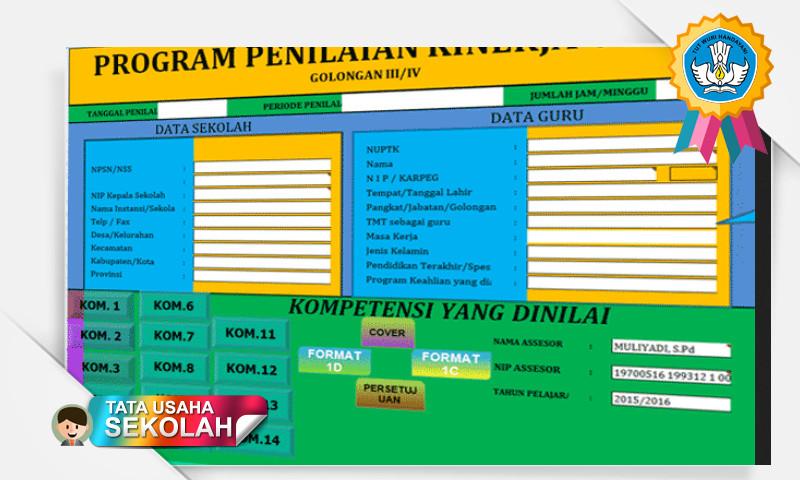 Program PKG (Penilaian Kinerja Guru) Semua Kompetensi