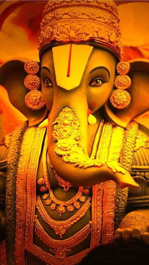Lord Ganesha Mobile HD Wallpaper