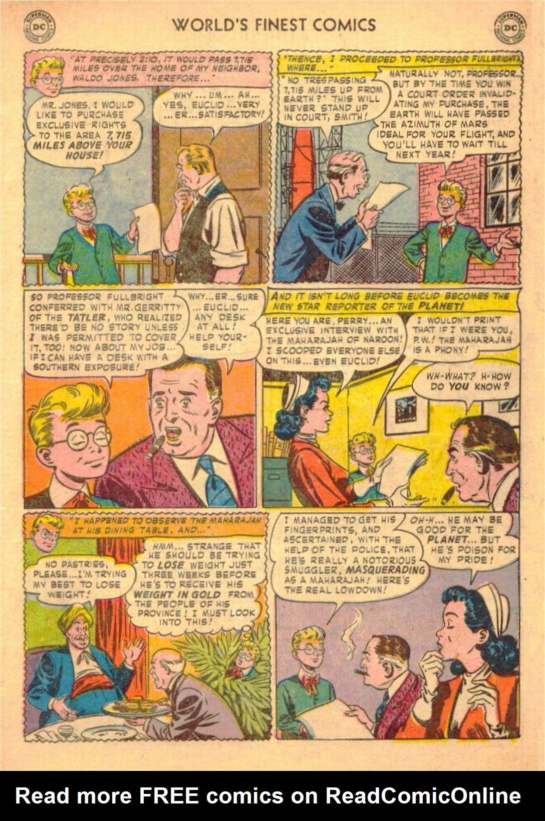 Read online World's Finest Comics comic -  Issue #58 - 7