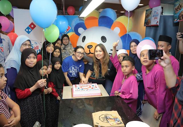 Domino's Pizza Anjur Sambutan Ulang Tahun Ke-7 untuk Lazada