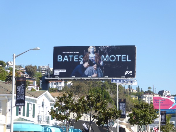 Bates Motel season 5 billboard
