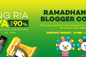 Peraduan Ramadhan Raya Blogger 2017 dari LAZADA !