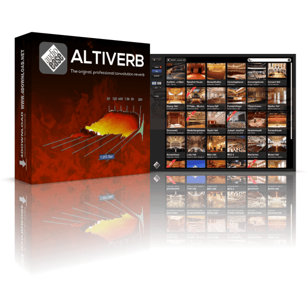 Audioease Altiverb 7 XL v7.2.6 Full version