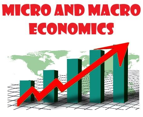 Micro economics and Macro economics