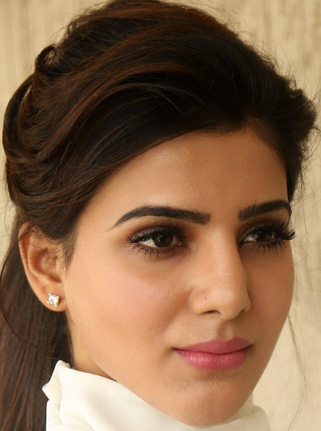 Tamil Actress Samantha Funny Face Close Up Gallery
