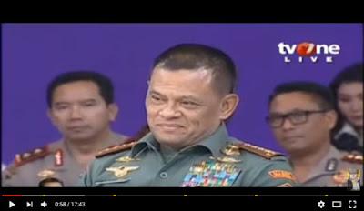Jawaban Cerdas Panglima TNI soal jebakan Karni Ilyas