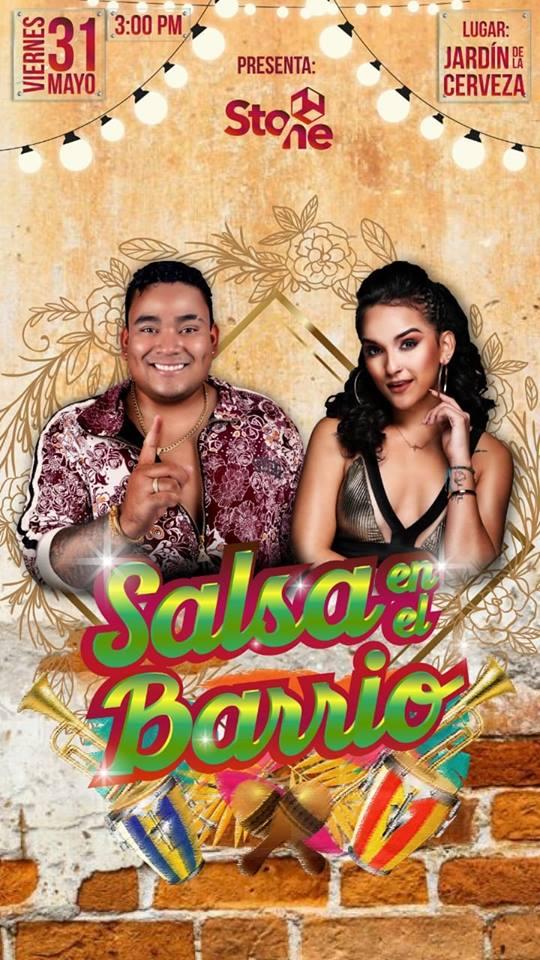 Salsa en el Barrio con Daniela Darcourt y Josimar y su Yambú 2019 - 31 de mayo