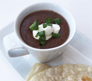 Black Bean and Salsa Soup Recipe