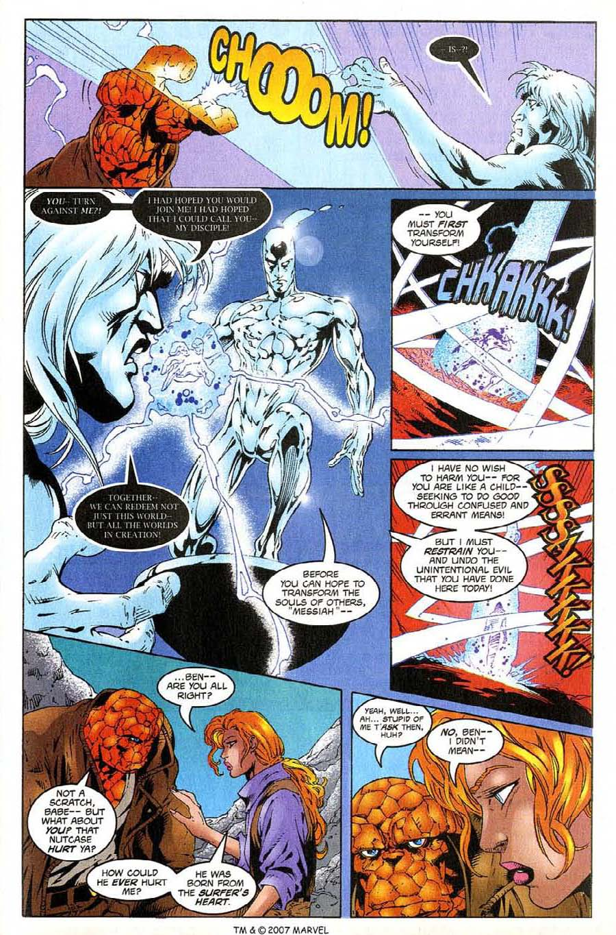 Read online Silver Surfer (1987) comic -  Issue #138 - 23