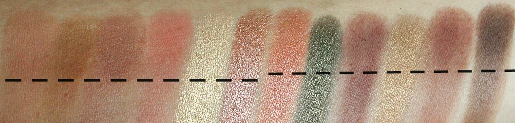makeup geek creme brulee, tiki hut, frappe, tuscan sun review and swatch
