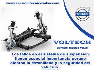 Mantenimiento Sistema de Suspension Volvo