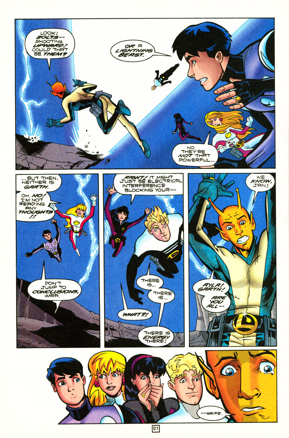 Legion of Super-Heroes (1989) 101 Page 21