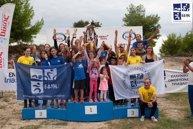 Θεαματικό κλείσιμο της σεζόν με πολλά χαμόγελα από μικρούς και μεγάλους στο Energy Triathlon Tolo (αποτελέσματα)
