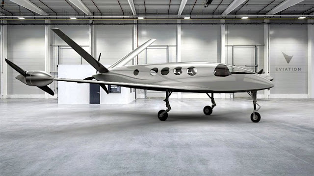 Eviation electric aircraft Alice