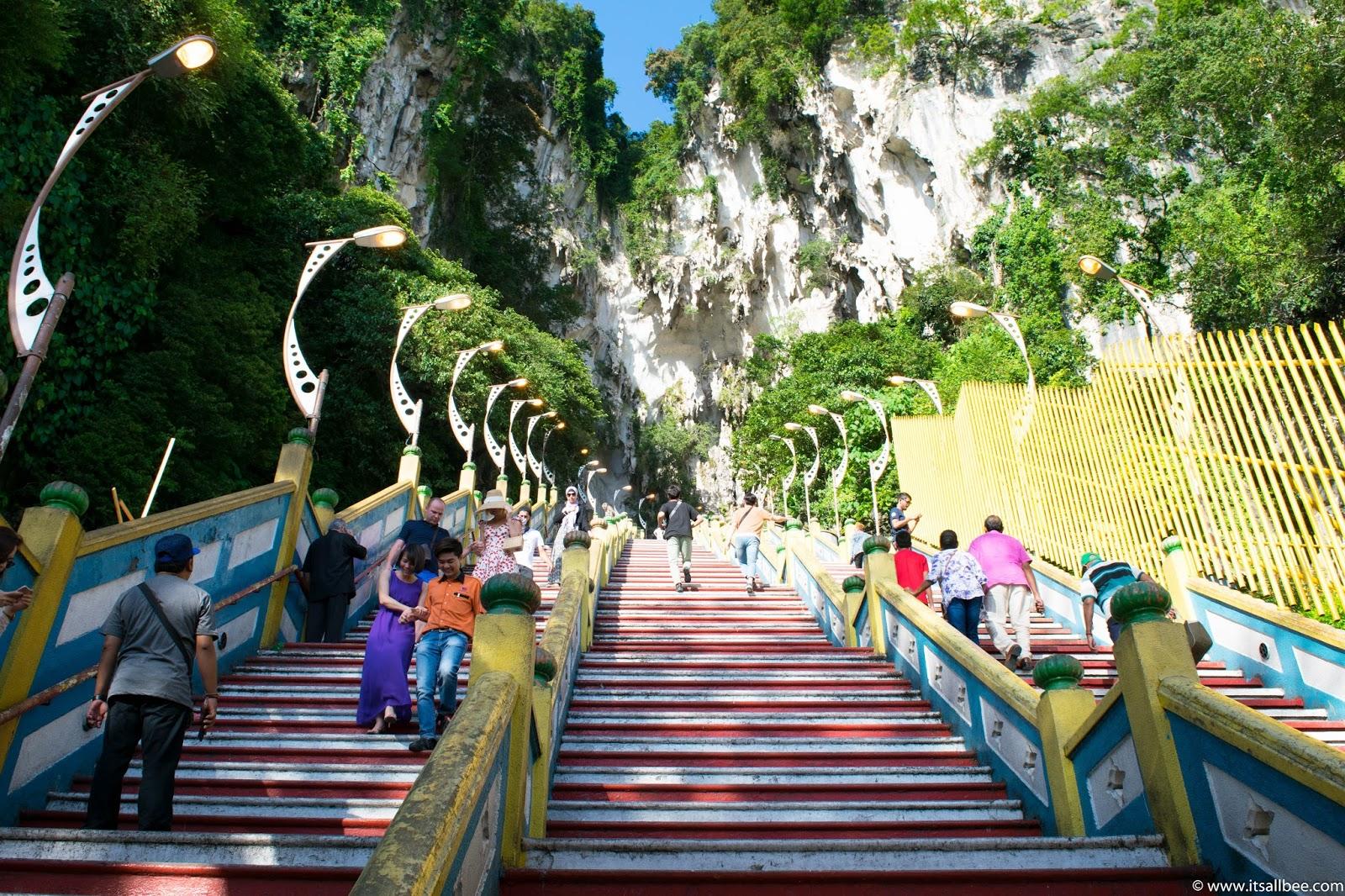 Kuala Lumpur Batu Caves stairs | Malaysia