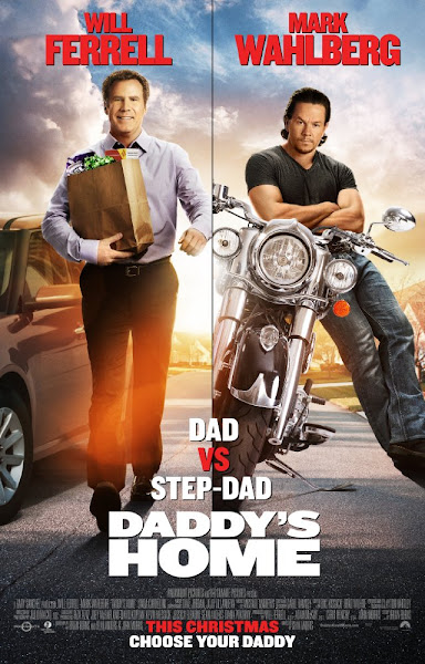 Poster of Daddys Home 2015 720p English BRRip Full Movie Download